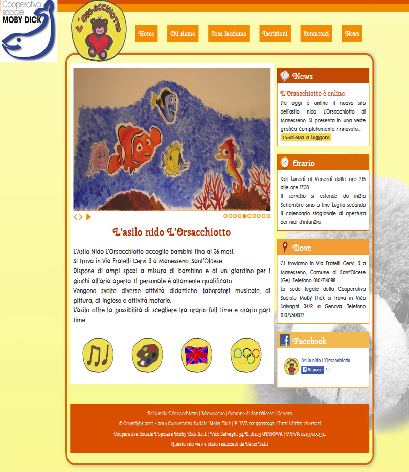 L Orsacchiotto home page