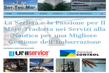Sertecmar Home page