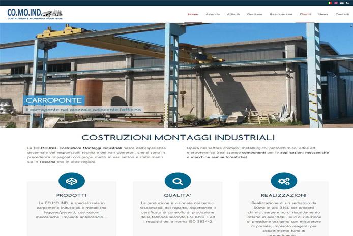 Comoind Costruzioni Montaggi Industriali Rosignano Solvay Livorno